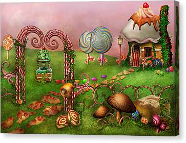 Dessert - Sweet Dreams Canvas Print by Mike Savad