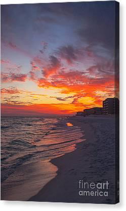 Destin Sunset Canvas Print by Kay Pickens