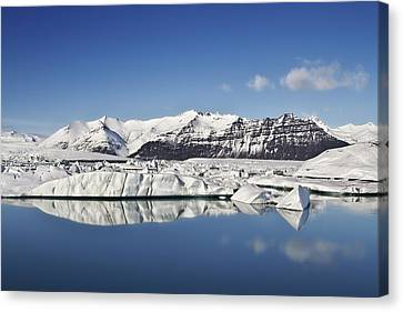 Destination - Iceland Canvas Print by Evelina Kremsdorf