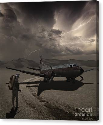 Destination Known Canvas Print by Keith Kapple