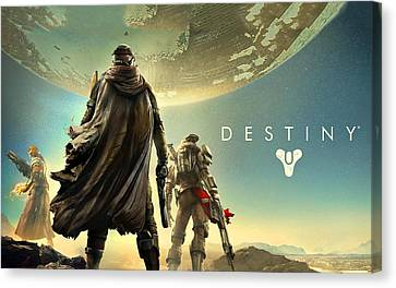 Destiny 1  Canvas Print by Movie Poster Prints