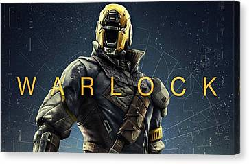 Destiny 3 Warlock Canvas Print