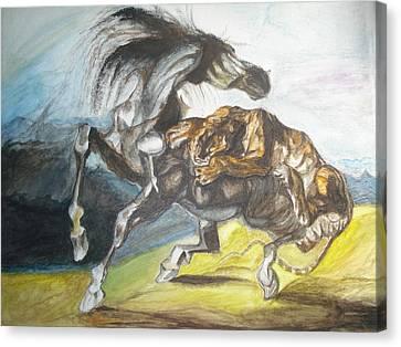 Destiny Canvas Print by Prasenjit Dhar