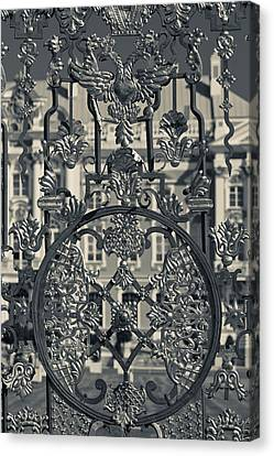 Catherine White Canvas Print - Detail Of The Palace Gate, Catherine by Panoramic Images