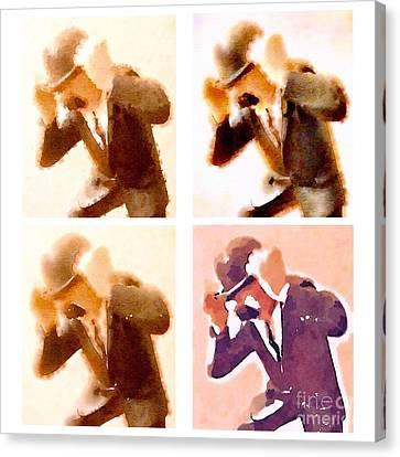 Bandes Dessinees Canvas Print - Detectives by Helge