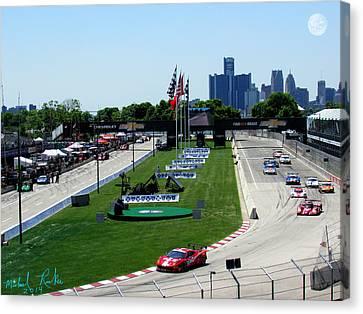 Detroit Grand Prix 2014 Canvas Print