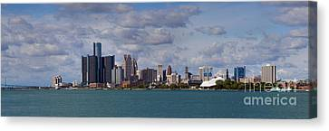 Belle Isle Canvas Print - Detroit Skyline by Twenty Two North Photography