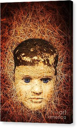 Devil Child Canvas Print by Edward Fielding