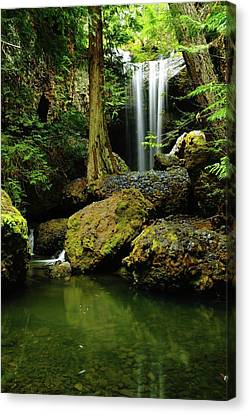 Devil Creek Falls  Canvas Print