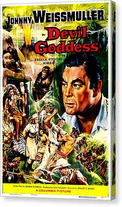 Devil Goddess, Us Poster, Johnny Canvas Print by Everett