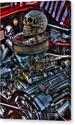 Devil Is In The Details Canvas Print by Tommy Anderson