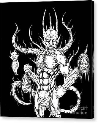 Devil Killer Canvas Print by Alaric Barca