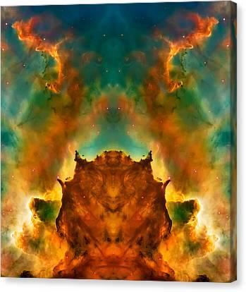 Devil Nebula Canvas Print