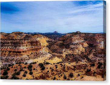 Devil's Canyon2 Canvas Print