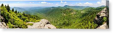 Devils Courthouse, Appalachian Canvas Print by Panoramic Images