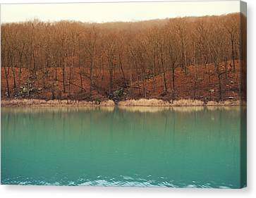 Devil's Den Autumn Canvas Print by Tanya Harrison