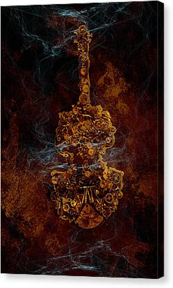 Devils Fiddle Canvas Print by Fran Riley