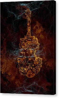 Devils Fiddle Canvas Print by Fran Riley