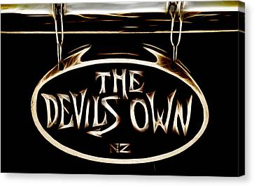Devils Own Canvas Print by Phil 'motography' Clark