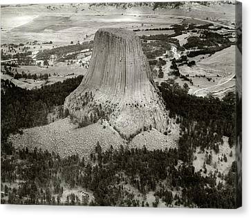 Devils Tower Canvas Print by American Philosophical Society