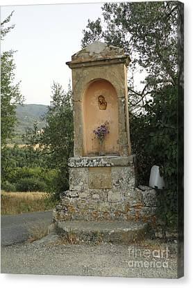 Devotion In Loppiano Canvas Print
