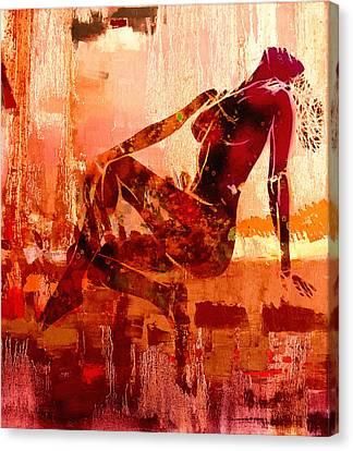 Devotion Canvas Print by Steve K