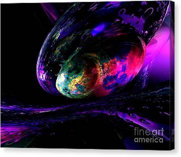Dew Of A Rainbow Canvas Print by Alexander Butler
