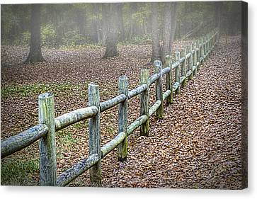 Dew Point And Temperature Canvas Print by Barry Jones