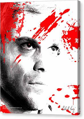 Dexter Dreaming Canvas Print