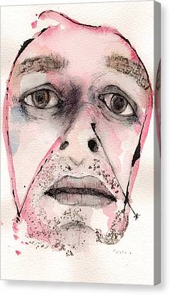 Dexter Morgan As The Dark Passenger Canvas Print by Mark M  Mellon