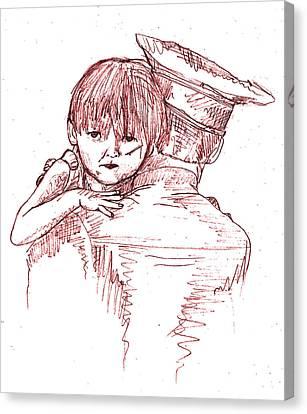 Dexter Morgan Canvas Print - Dexter Morgan  by Ehud Shomron