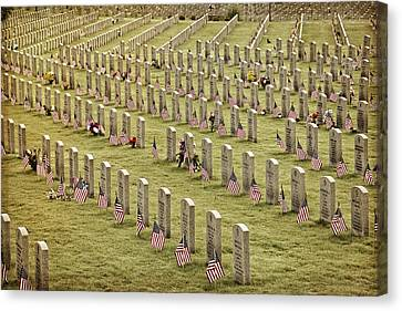 Dfw National Cemetery II Canvas Print