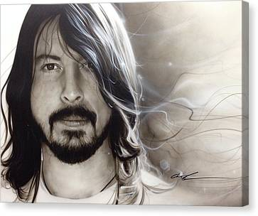 David Grohl - ' D. G. ' Canvas Print