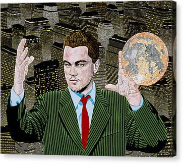 Di Caprio  Canvas Print by Alan Morrison