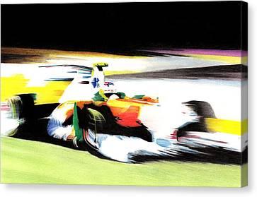 Di Resta Canvas Print by Lyle Brown