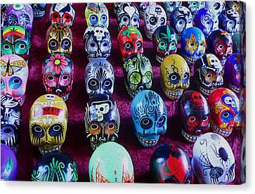 Dia De Los Muertos Canvas Print by Timothy Ramos