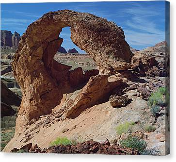 Diagenetic Arch-h Canvas Print