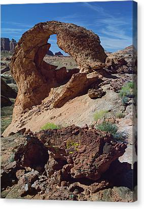 Diagenetic Arch Canvas Print