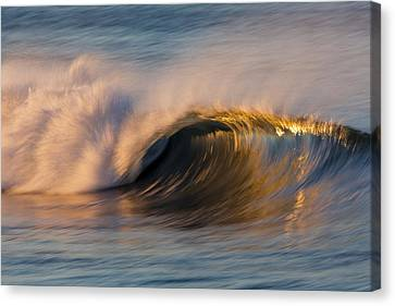 Canvas Print featuring the photograph Diagonal Blur Wave 73a8081 by David Orias