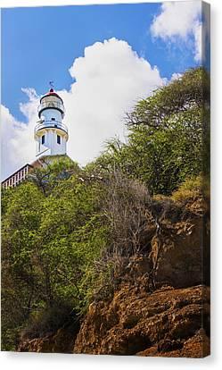 Diamond Head Lighthouse - Oahu Hawaii Canvas Print by Brian Harig