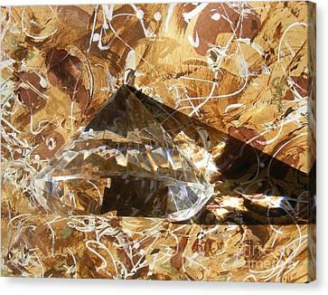Seem Canvas Print - Diamond In The Rough by Nancy Kane Chapman