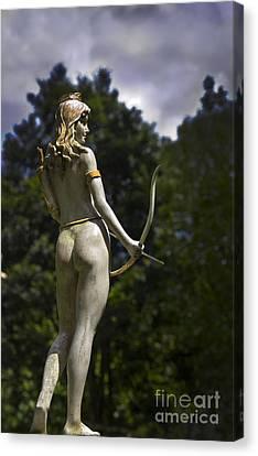 Diana - Goddess Of The Hunt Canvas Print