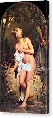 Diana Canvas Print by Marc Gabriel Charles Gleyre