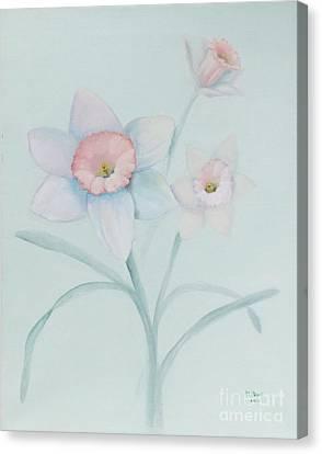Dianne's Daffodils Canvas Print by Marlene Book