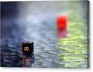 Dice Canvas Print by Arie Arik Chen