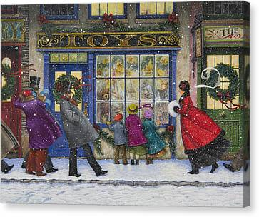 The Toy Shop Canvas Print by Lynn Bywaters