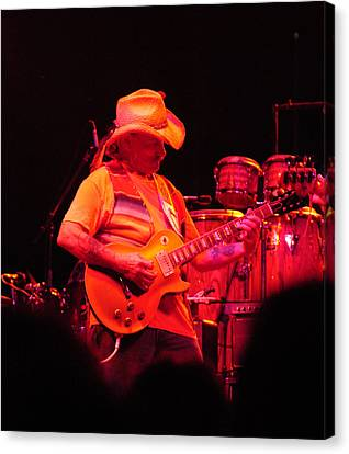 Dickey Betts Jammin Canvas Print