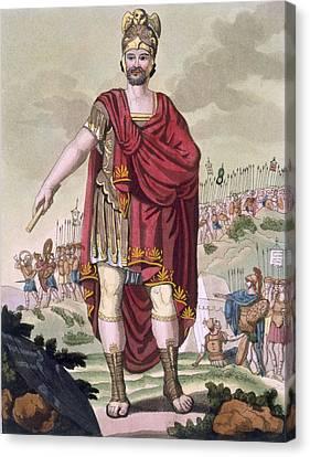 Dictator, 1796 Canvas Print by Jacques Grasset de Saint-Sauveur