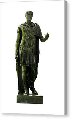 Dictator Julius Caesar Canvas Print by Fabrizio Troiani