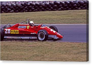 Didier's Ferrari Canvas Print by Mike Flynn
